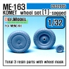 Me163B 'Komet' Wheel set 1 (for Meng 1/32)