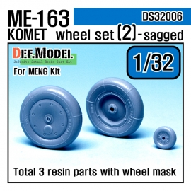 Me163B 'Komet' Wheel set 1 (for Meng 1/32)
