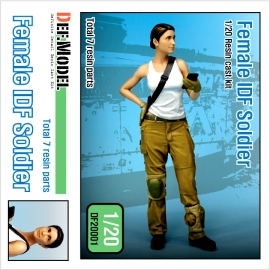Modern IDF Female soldier 1/20