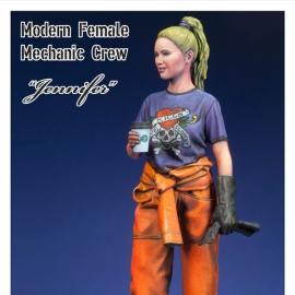 Modern Female Mechanic crew  1/20