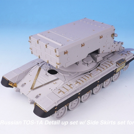 1/35 Russian TOS-1A Detail up set w/ Side Skirts set for Trumpeter