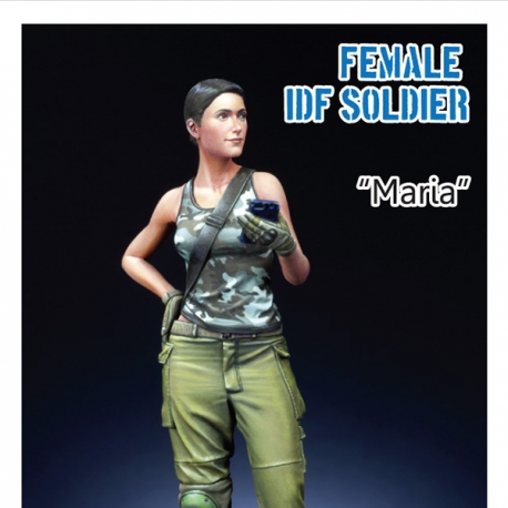 Modern IDF Female soldier 1/24