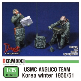 USMC ANCLICO Team Korea Winter 1950/51