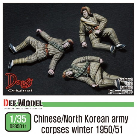 Chinese / North korean army corpses (3pc)
