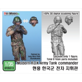 Modern ROK Army Tank Commander for K2
