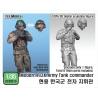 Modern ROK Army Tank Commander for K2