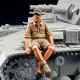 WWII DAK Panzer Crew rest