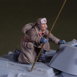 WWII Russian winter tank rider 2