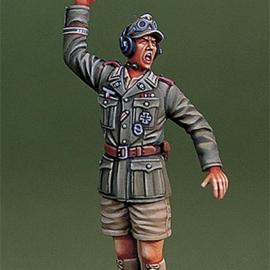 WWII DAK Panzer Commander on board