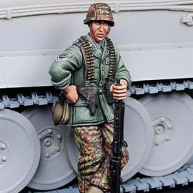 WWII SS Machine gunner