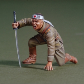 WWII Japanese Officer (Banzai Attack)