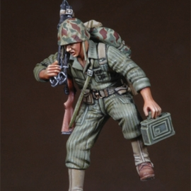 WWII-Korean War USMC MG Asst Gunner