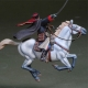 WWII Russian Cossack Cavalry W/ sabre