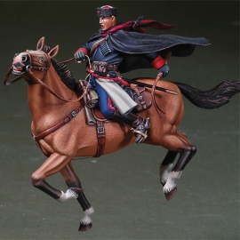 WWII Russian Cossack Cavalry W/ Whip