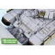 1/35 Russian MBT T-90 Dozer Detail up set w/Side skirts for MENG