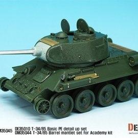 T-34/85 PE Detail Up set (for Academy/Tamiya/Zvezda 1/35)
