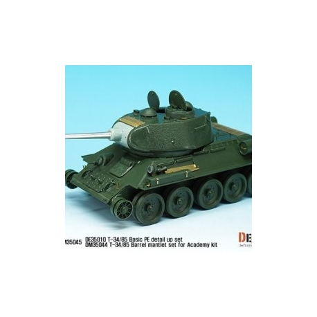 T-34/85 PE Detail Up set (for Academy/Tamiya/Zvezda 1/35)
