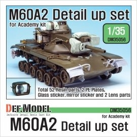 US M60A2 Detail up set (for Academy 1/35)