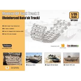 Modern IDF Tank Track 1 - Reinforced Bata'sh Track