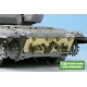 1/35 Russian MBT T-90 Dozer Detail up set w/Side skirts, Metal Barrel