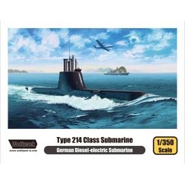 Type 214 Class Submarine 1/350
