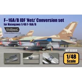 F-16A/B IDF 'Netz' Conversion set (for Hasegawa 1/48)