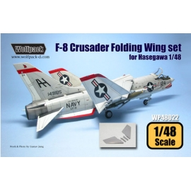 F-8 Crusader Folding Wing set (for Hasegawa 1/48)
