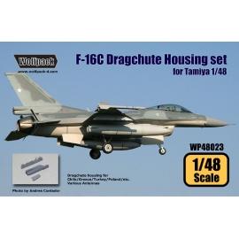 F-16C Dragchute housing set (for Tamiya 1/48)