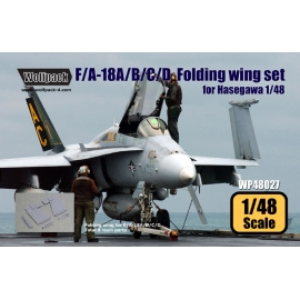 F/A-18A/B/C/D Folding Wing set (for Hasegawa 1/48)