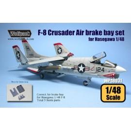 F-8 Speed brake bay set (for Hasegawa 1/48)