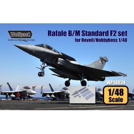 Dassault Rafale B/M Standard F2 Update set (for Revell/Hobbyboss 1/48)