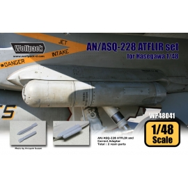 AN/ASQ-228 Advenced FLIR set (for Hasegawa 1/48)