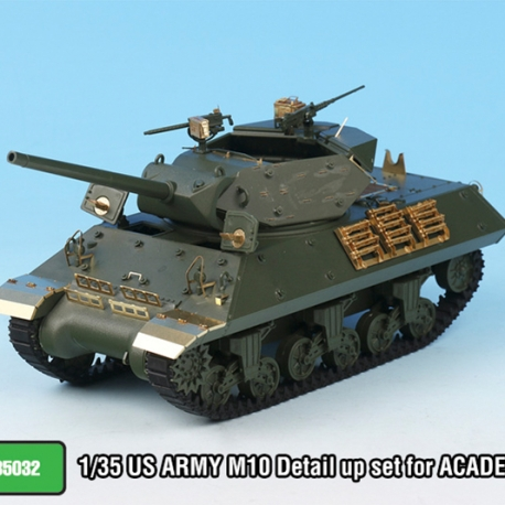 1/35 US ARMY M10 Detail up set for ACADEMY