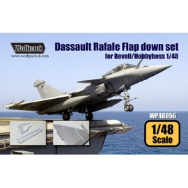 Dassault Rafale Flap set (for Revell/Hobbyboss 1/48)