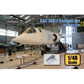 BAC TSR.2 Cockpit set (for Airfix 1/48)
