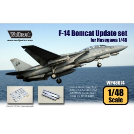F-14 Bomcat Update set (for Hasegawa 1/48)