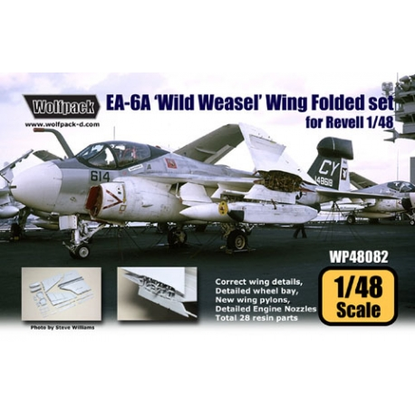 EA-6A Intruder 'Wild Weasel' Wing Folded set (for Revell 1/48)