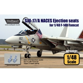 SJU-17/A NACES Ejection seat for F-14D (2 pcs)