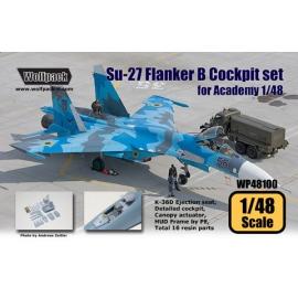Su-27 Flanker B Cockpit set (for Academy 1/48)