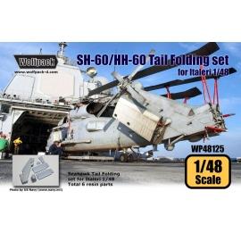 SH-60/HH-60 Sea Hawk Tail Folding set (for Italeri 1/48)