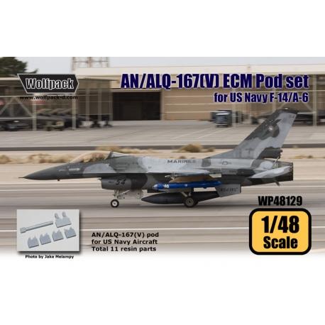 AN/ALQ-167(V) ECM Pod for US Navy