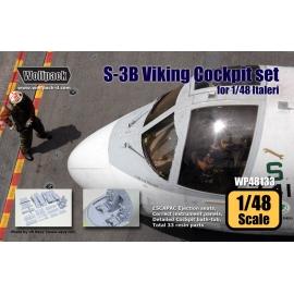 S-3B Viking Cockpit set (for Italeri 1/48)