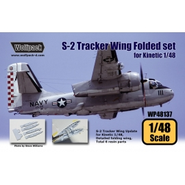 S-2 Tracker Wing Folded set (for Kinetic 1/48)