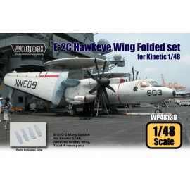 E-2C Hawkeye Wing Folded set (for Kinetic 1/48)