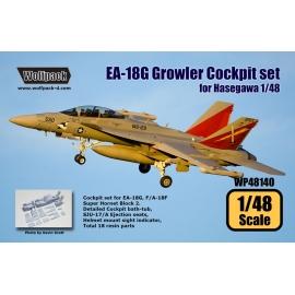 EA-18G Grolwer Cockpit set (for Hasegawa 1/48)