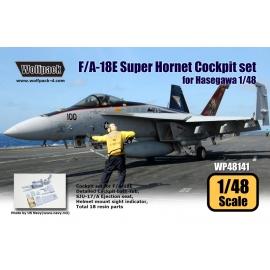 F/A-18E Super Hornet Cockpit set (for Hasegawa 1/48)
