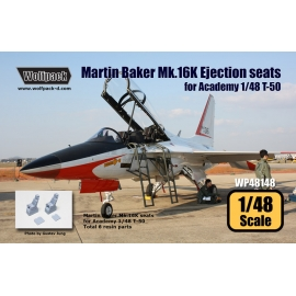 Martin Baker Mk.16K Ejection seats for T-50 (2 pcs)