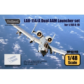 LAU-114/A Dual AAM Launcher set for A-10 (2 pcs)