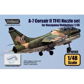 A-7 Corsair II TF41 Nozzle set (for Hasegawa 1/48)