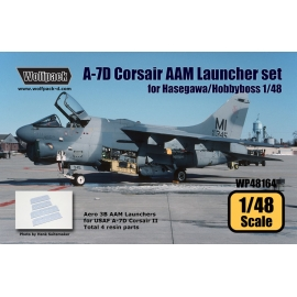 A-7D Corsair II AAM Launcher set (for Hasegawa 1/48)